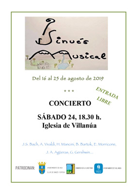 Sinués Musical regresa a Villanúa el 24 de agosto.